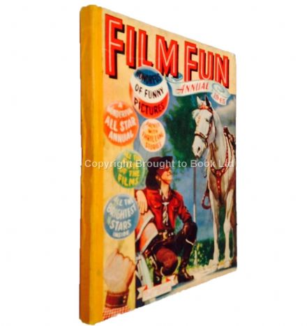 Film Fun Annual 1945 The Amalgamated Press Fleetway